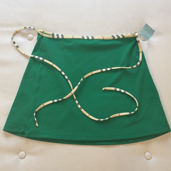 9ce1d03cec Burberry Other - Burberry Swim Wrap Coverup/Sarong Nova Check Skirt